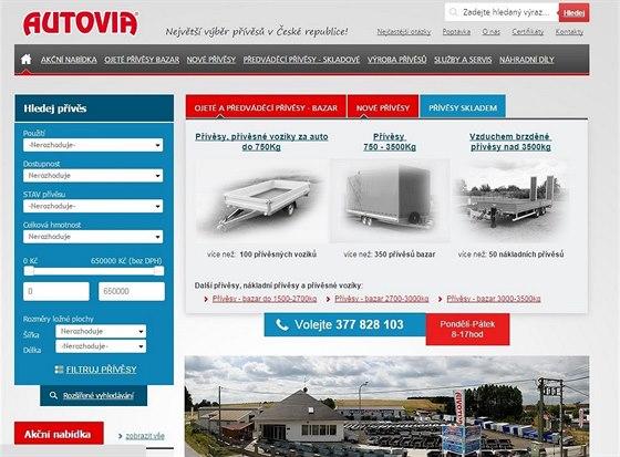 Nové webové stránky a rozšíření areálu i sortimentu pro váš efektivnější výběr