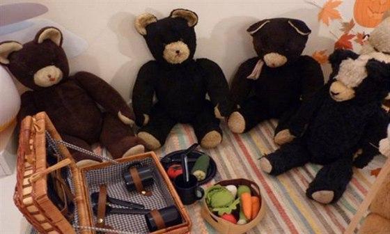 Muzeum Brněnska v Šlapanicích zaplnili plyšoví medvídci, navštivte je v novém roce