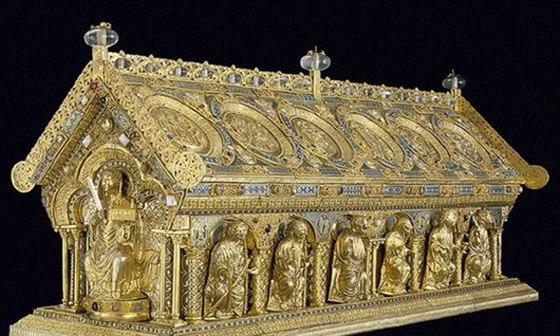 Výstava Hrady a zámky objevované a opěvované nabídne k zhlédnutí i relikviář svatého Maura