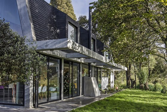 Dům navrhlo studio Plan B Arquitectos.
