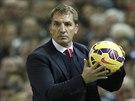 Manažer Liverpoolu Brendan Rodgers.