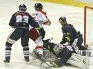 Olomouc skóruje v utkání proti Liberci.