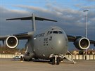 Přepravu zajišťoval letoun C-17 Globemaster amerického letectva.