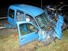 Tragická nehoda u Vamberka.