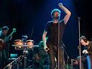 Na festivalu Hudba pomáhá vystoupil také zpěvák Dan Bárta.