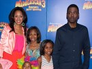 Chris Rock s man�elkou a dcerami