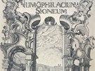 Jedním z exponátů olomoucké výstavy Speculum Mundi je i Katalog strahovské sbírky mincí z roku 1773 (na snímku titulní list).
