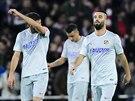 Atlético Madrid vstřelilo a oslavilo gól.
