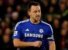 John Terry z Chelsea se raduje ze svého gólu proti Stoke,