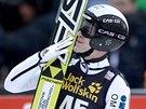 Roman Koudelka si v Engelbergu doskočil pro druhé místo.