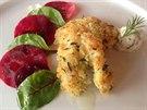 Smažený jazyk z polární tresky patří k vybraným delikatesám. V Praze se objevuje v nabídce restaurace Kampa Park.