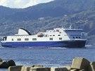 Loď Norman Atlantic na snímku z 26. září 2014.
