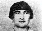 Třetí manželka Rudolfa Těsnohlídka Olga Těsnohlídková, Zámečníková - Vasická.