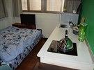 Ložnice a kuchyň