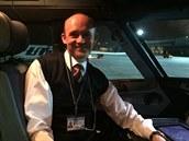 Pilot Peter �molík se stal prvním z bývalých pilot� �eských aerolinií, který...