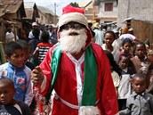 Madagaskar: Antananarivo, otec Vánoc
