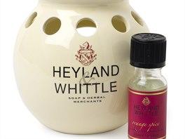 Klasick� aroma lampa - sta�� p�r kapek do �misky� a zah��t keramiku �ajovou sv��kou.