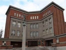 Mezi nejkrásnější stavby patří gymnázium J. K. Tyla, které navrhnul Josef Gočár.