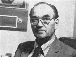 Výtvarník Karel Šmíd v roce 1979
