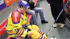 Bývalý hokejista Roman Bernat, jen� p�i nehod� p�i�el o nohu, se stal �lenem...