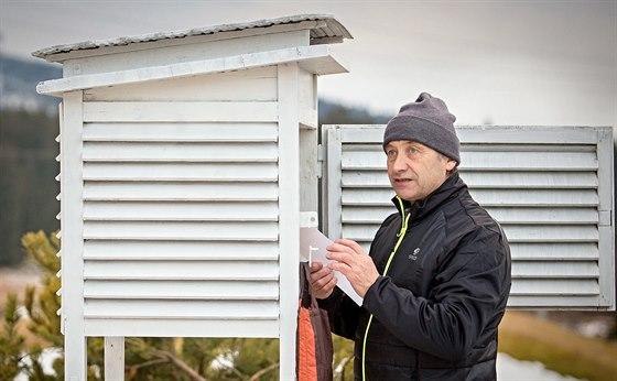 Antonín Vojvodík jezdí na své stanice pravidelně jednou týdně.