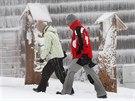 Začala zima, lidé se vracejí do hor, tedy i na beskydské Pustevny. (29. prosince 2014)