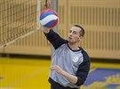 PŘIHRÁVAJÍCÍ SMEČAŘ. Timur Dmitrijev patří do kádru B-týmu ruského Dynama Moskva, ve Zlíně chce studovat univerzitu a zároveň hrát za místní extraligové volejbalisty.