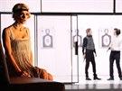 Záběr ze hry Othello, benátský mouřenín