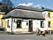 Původní hospoda U Prďoly na Kuksu v roce 2011.