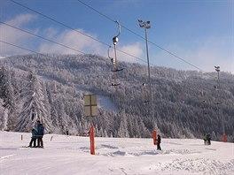 Rakouský Hochficht má otevřeno 7,4 km sjezdovek.